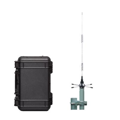 Basisstation buiten met antenne